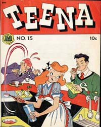 A-1 Comics : Teena : Issue 15 Volume Issue 15 by Magazine Enterprises