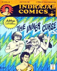 Aditya : The Inner Curse : Vol. 24, Issu... Volume Vol. 24, Issue 28 by Indrajal Comics