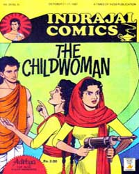 Aditya : The Childwoman : Vol. 24, Issue... Volume Vol. 24, Issue 41 by Indrajal Comics
