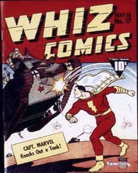 Whiz Comics: Issue 17 Volume Issue 17 by Fawcett Magazine