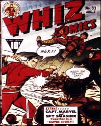 Whiz Comics: Issue 33 Volume Issue 33 by Fawcett Magazine