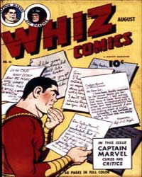 Whiz Comics: Issue 45 Volume Issue 45 by Fawcett Magazine