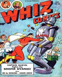 Whiz Comics: Issue 85 Volume Issue 85 by Fawcett Magazine