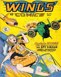 Wings Comics: Issue 99 Volume Issue 99 by Fiction House
