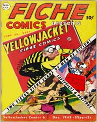 Yellowjacket Comics: Issue 6 Volume Issue 6 by Charlton Comics