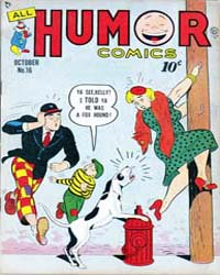 All Humor Comics : Issue 5 Volume Issue 5 by Quality Comics