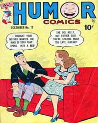 All Humor Comics : Issue 8 Volume Issue 8 by Quality Comics