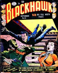 Blackhawk : Issue 44 Volume Issue 44 by Quality Comics