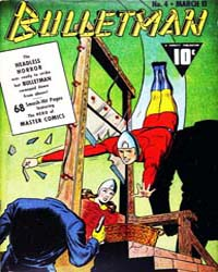 Bulletman : Issue 4 Volume Issue 4 by Fawcett Magazine
