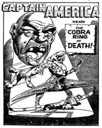 Captain America : The Cobra Ring of Deat... Volume Issue 22 by Lee, Stan
