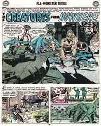 House of Mystery : The Creatures from No... Volume Issue 70 by Kir, Jack