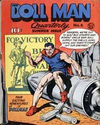 Doll Man Quarterly : Issue 6 Volume Issue 6 by Eisner, Will