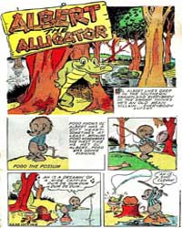 Albert the Alligator and Pogo Possum : I... Volume Issue 105 by Kelly, Walt