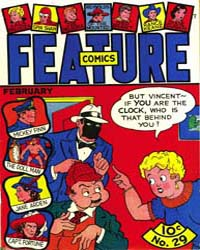 Feature Comics : Issue 29 Volume Issue 29 by Quality Comics