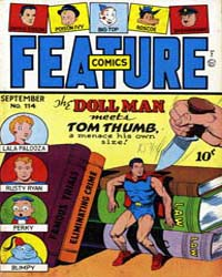 Feature Comics : Issue 114 Volume Issue 114 by Quality Comics