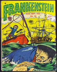 Frankenstein : Issue 26 Volume Issue 26 by Prize Comics Group