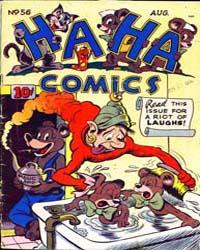 Ha Ha Comics : Issue 56 Volume Issue 56 by American Comics Group/Acg