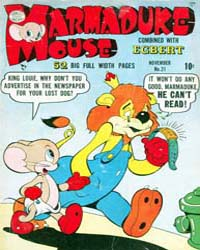 Marmaduke Mouse: Issue 21 Volume Issue 21 by Quality Comics