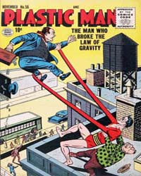 Plastic Man: Issue 56 Volume Issue 56 by Cole, Jack
