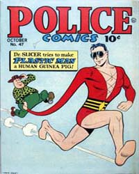 Police Comics: Issue 47 Volume Issue 47 by Quality Comics