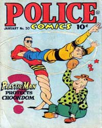 Police Comics: Issue 50 Volume Issue 50 by Quality Comics
