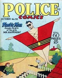 Police Comics: Issue 59 Volume Issue 59 by Quality Comics