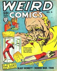 Weird Comics: Issue 5 Volume Issue 5 by Fox Feature Syndicate