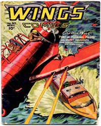 Wings Comics: Issue 80 Volume Issue 80 by Fiction House