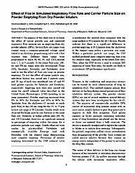 The American Assosciation of Pharmaceuti... by Fung, Ho-Leung