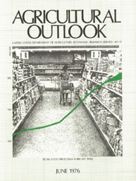 Agricultural Outlook : June 1976 Volume Issue June 1976 by Usda