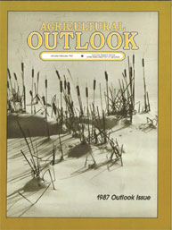 Agricultural Outlook : January-February ... Volume Issue January-February 1987 by Usda