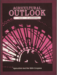 Agricultural Outlook : March 1987 Volume Issue March 1987 by Usda