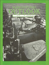 Agricultural Outlook : April 1988 Volume Issue April 1988 by Usda