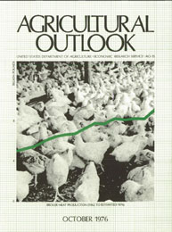 Agricultural Outlook : October 1976 Volume Issue October 1976 by Usda