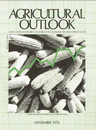 Agricultural Outlook : November 1976 Volume Issue November 1976 by Usda