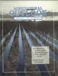 Agricultural Outlook : September 1990 Volume Issue September 1990 by Usda