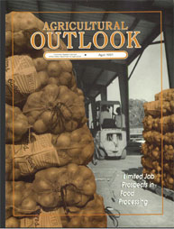 Agricultural Outlook : April 1991 Volume Issue April 1991 by Usda