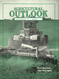 Agricultural Outlook : May 1991 Volume Issue May 1991 by Usda