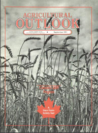 Agricultural Outlook : September 1991 Volume Issue September 1991 by Usda