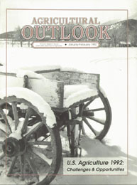 Agricultural Outlook : January-February ... Volume Issue January-February 1992 by Usda