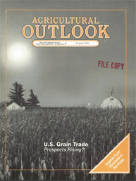 Agricultural Outlook : August 1993 Volume Issue August 1993 by Usda
