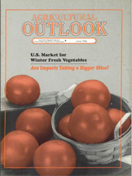 Agricultural Outlook : June 1996 Volume Issue June 1996 by Usda