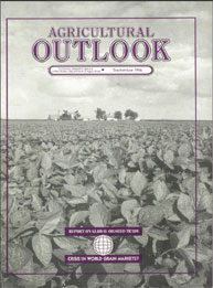 Agricultural Outlook : September 1996 Volume Issue September 1996 by Usda