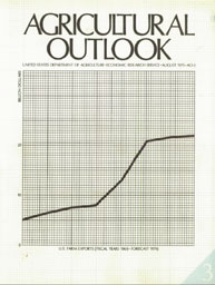 Agricultural Outlook : August 1975 Volume Issue August 1975 by Usda