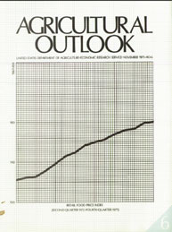 Agricultural Outlook : November 1975 Volume Issue November 1975 by Usda
