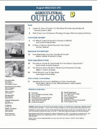 Agricultural Outlook : August 2002 Volume Issue August 2002 by Usda