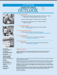 Agricultural Outlook : June 1997 Volume Issue June 1997 by Usda