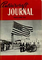 Antiaircraft Journal : March-April 1953 Volume 96, Issue 2 by Brady, Colonel W. I.