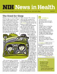 National Institutes of Health (Nih) News... Volume April 2007 ; The Need for Sleep by Wein, Harrison