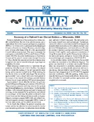 Morbidity and Morality Weekly Report (Mm... by Center for Disease Control (Cdc) and Prevention